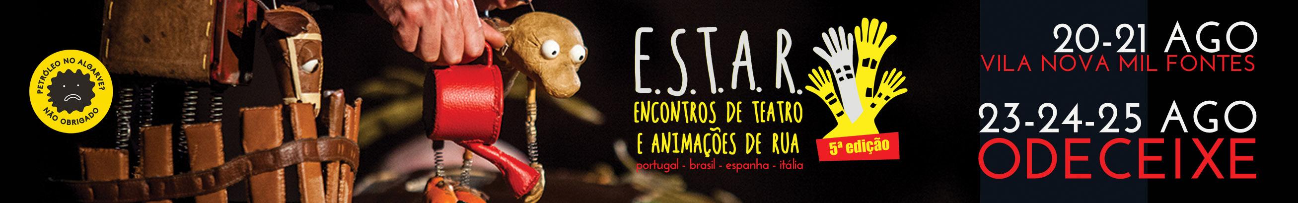 Encontros de Teatro e Animações de Rua - ODECEIXE - FEstival de Teatro e Animação de Rua